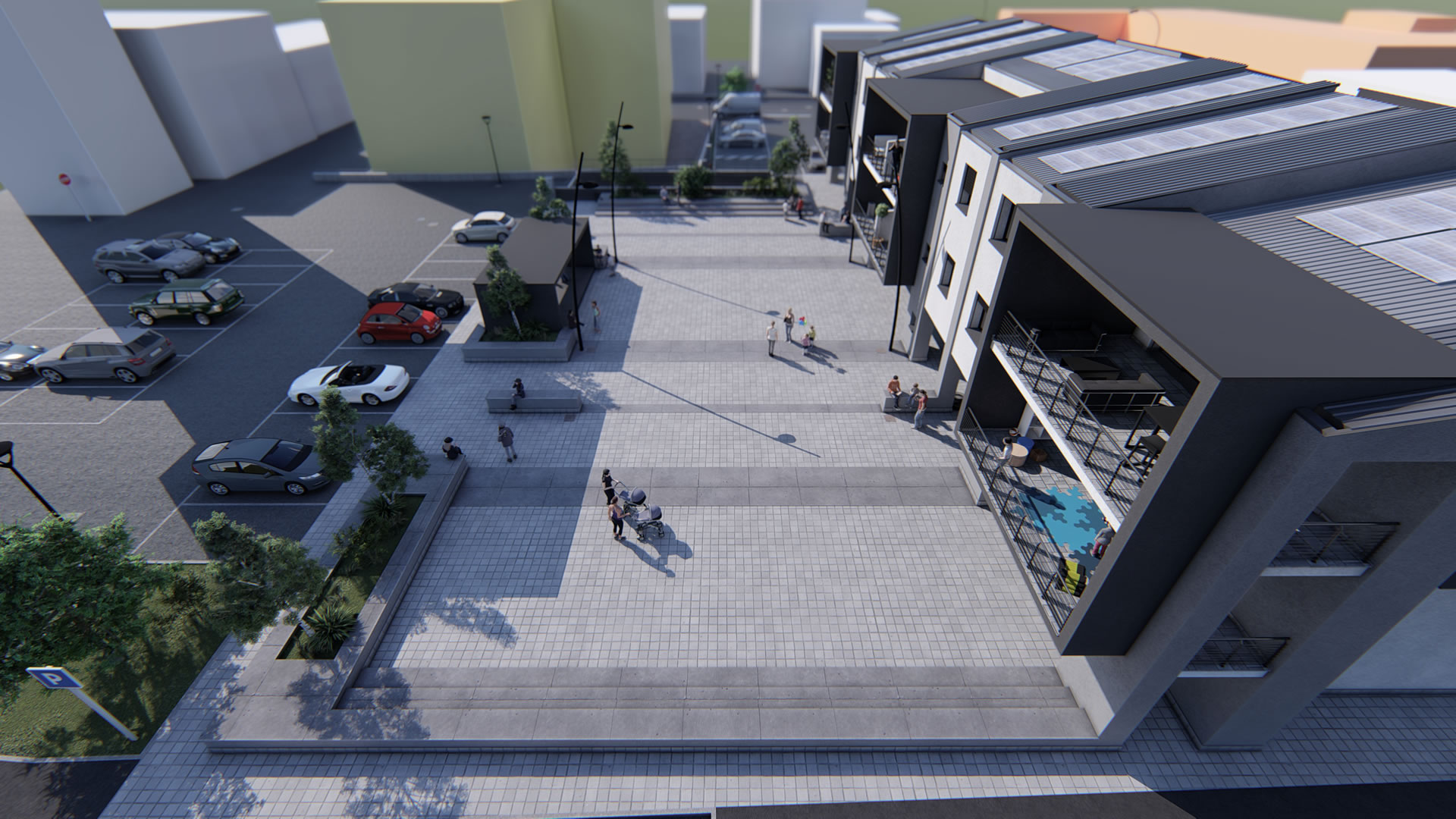 Castelcovati (Brescia) - appartamenti e negozi in vendita